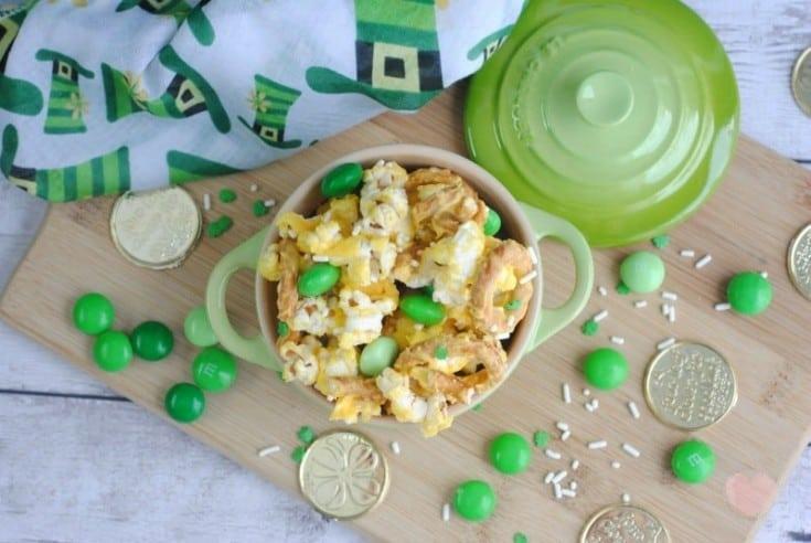 St. Patrick's Day Treats: Leprechaun Popcorn