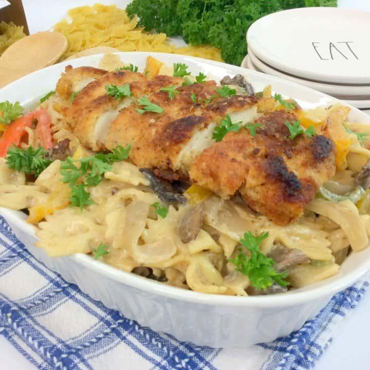 Cajun Creamy Chicken Pasta