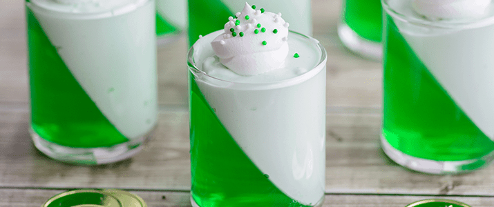St. Patrick's Day Parfaits