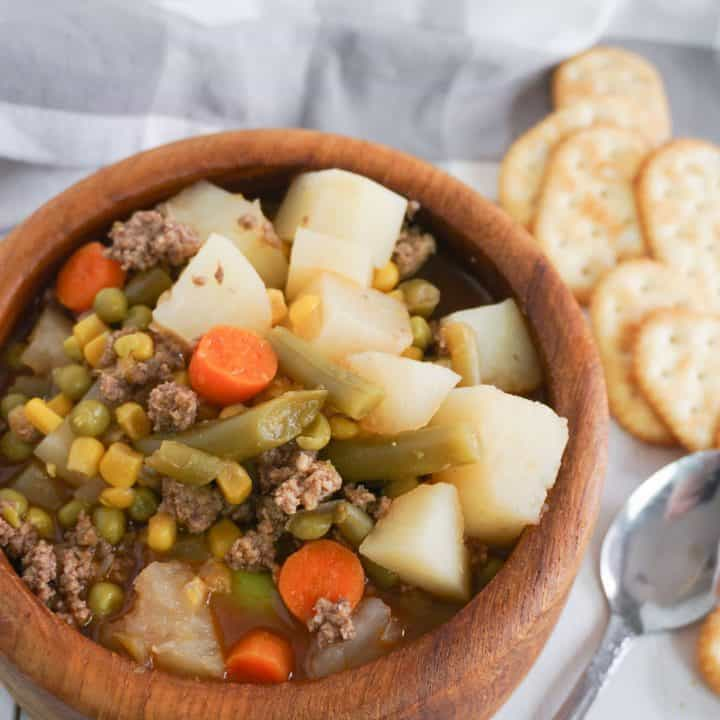 Hamburger Potato Soup